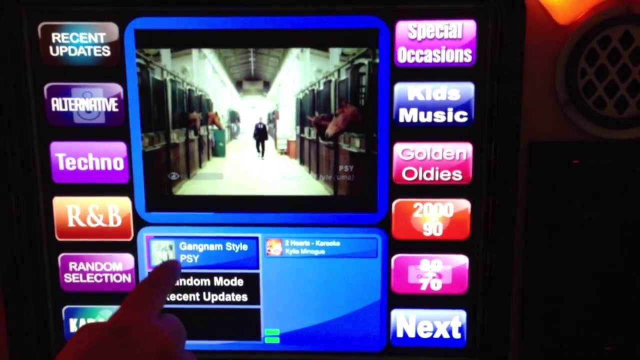 Jukebox / Karaoke software at wowparty.com.au - YouTube