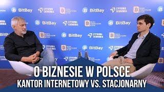 O biznesie w Polsce kantor internetowy vs. stacjonarny. Komentujµ P. Domownik i S. Woтoch