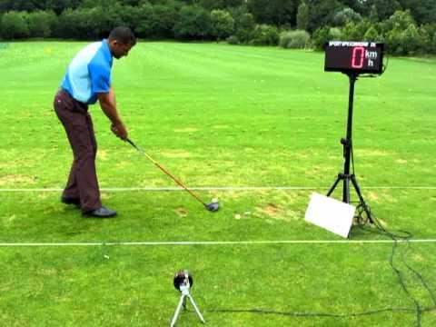 Golfball geschwindigkeit