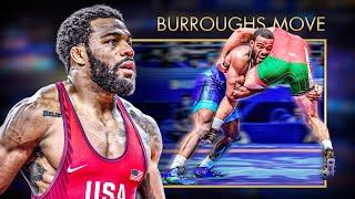 Jordan BURROUGHS move | WRESTLING