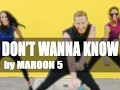 All of the Don't Wanna Know - Maroon 5 - Dance fitness with Jason Songs
