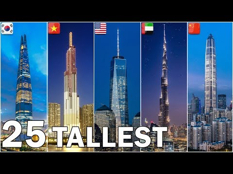 The World's 25 Tallest Buildings 2019