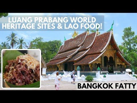 Laos Travel Vlog #4: Luang Prabang World Heritage Sites and Lao Food!