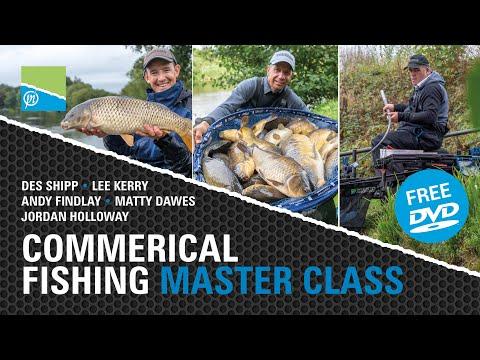 Commercial Fishing Masterclass - Preston Innovations 2020 FREE DVD!