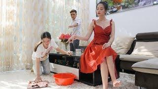 Con Gái Sếp Tổng Bị Mẹ Kế Ganh Ghét Bắt Quỳ Lau Nhà | Coi Thường Người Khác Và Cái Kết - RKM