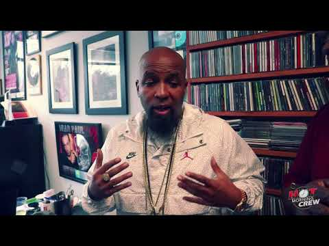 Tech N9ne Talks With The Hot Morning Crew