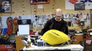 How to Seal a Motorcycle Fuel Tank with KBS Coatings Tank Sealer Kit • Shop J Cycles