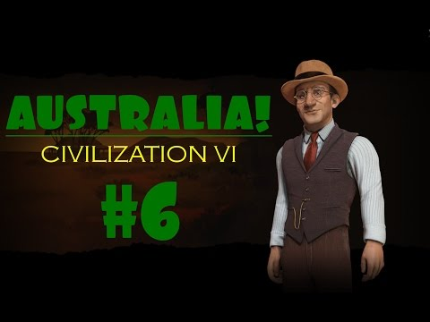 Civilization 6 Gameplay - Australia/Deity - Episode 6: Outback Station Edition