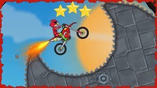 Angry Bird In Moto X3M Bike Race Game Mobile Gameplay 45-60 Levels Walkthrough