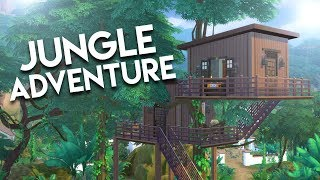 JUNGLE TREEHOUSE // The Sims 4: Speed Build