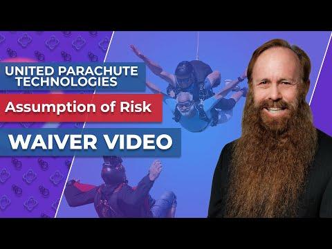 United Parachute Technologies 2012 Assumption of Risk Waiver Video 1080p