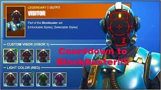 Countdown To Blockbuster Skin| Fortnite
