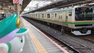 シンカリオン    湘南新宿ラインE231系S-07編成    池袋駅発車