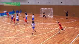 H26年 第23回JOCハンドボール大会岩手VS福岡(ダイジェスト)(女子予選リーグ)