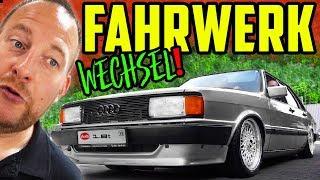 Das LUFTFAHRWERK muss raus! - Audi 80 Typ 81 - Marco erklärt WARUM!
