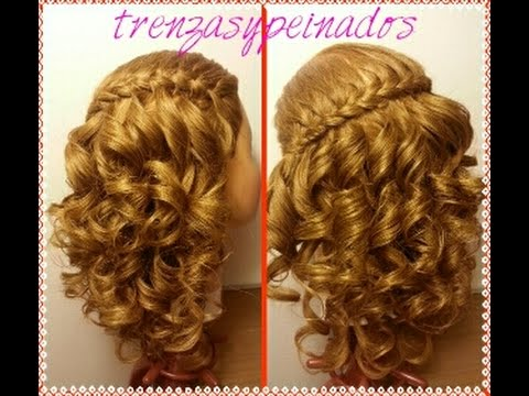 Trenza Cordon Frances Con Crespos Faciles French Braid