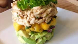 Crab Mango Avocado Stack - Cooked By Julie - Episode 160