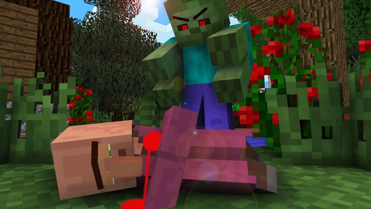 Villager Life I - Minecraft Animation - YouTube