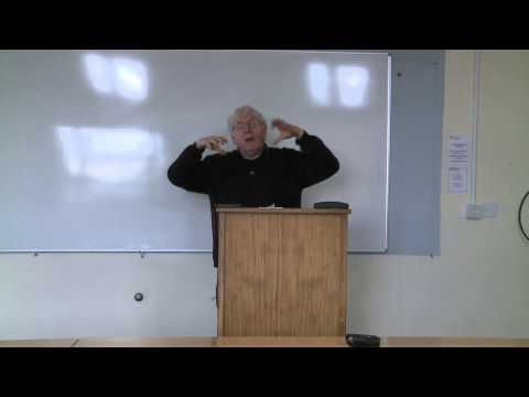 Marxism lecture by Prof. Raymond Geuss 1/8