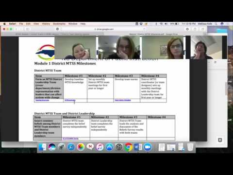 Virtual Coaching Session (MTSS Cohorts 3 and 4)