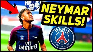 NEYMAR Craziest Football SKILL In Game? ★ (How To Play Like Neymar In PSG)
