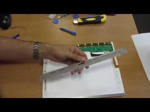 Переделка матрицы ноутбука с CCFL на LED подсветку. Делаем монитор. Весь процесс!