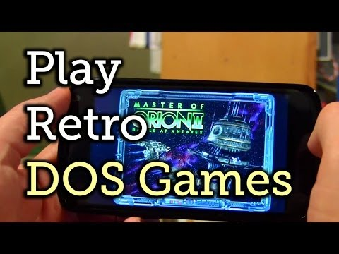 Play DOS Games On Your Android Device [How-To]