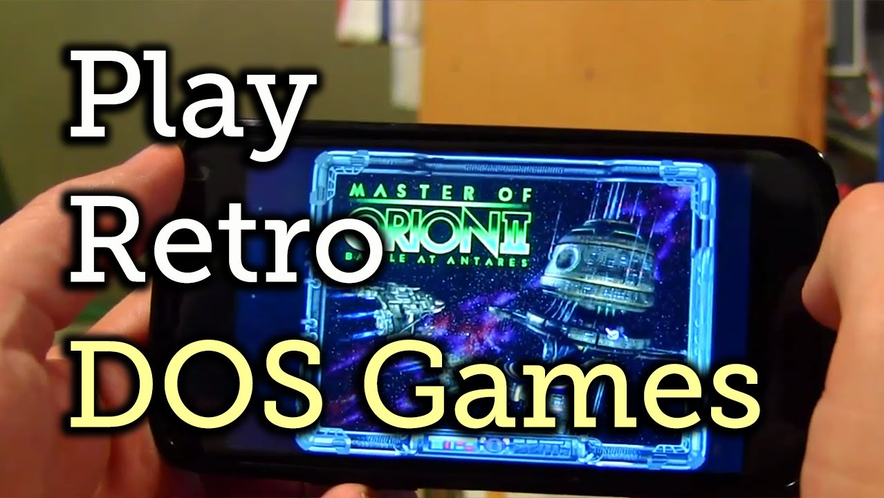 How to Play Retro PC Games on Android with DosBox Turbo