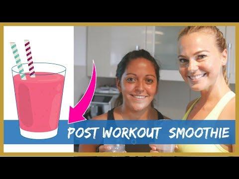 Post Workout Smoothie / zu Gast bei Rosislife / Protein-Detox-Smoothie / Was essen nach dem Training