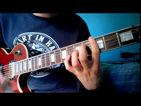 The Amity Affliction // Life Underground Guitar Cover (HD)