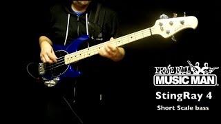 Ernie Ball Music Man StingRay 4 Short Scale bass review