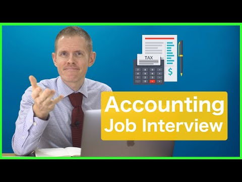 Full English Interview Conversation for Accounting Job (Easy & Hard Lessons)
