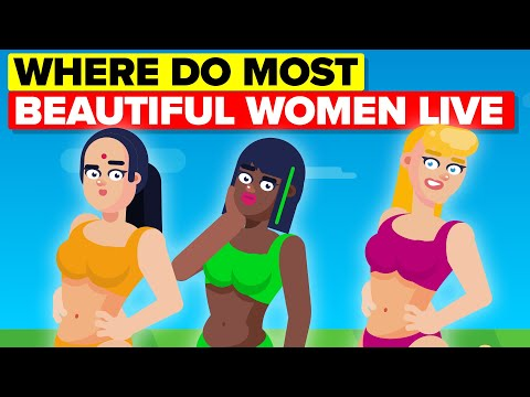 These Countries Have Been Proven To Have Most Beautiful Women Statistically