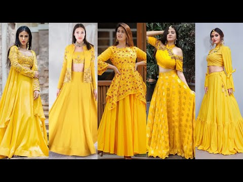50+ Most Adorable Yellow Colour Combination #daffodilsyellow #brightyellow  #mayonyellow Pakistani - YouTube
