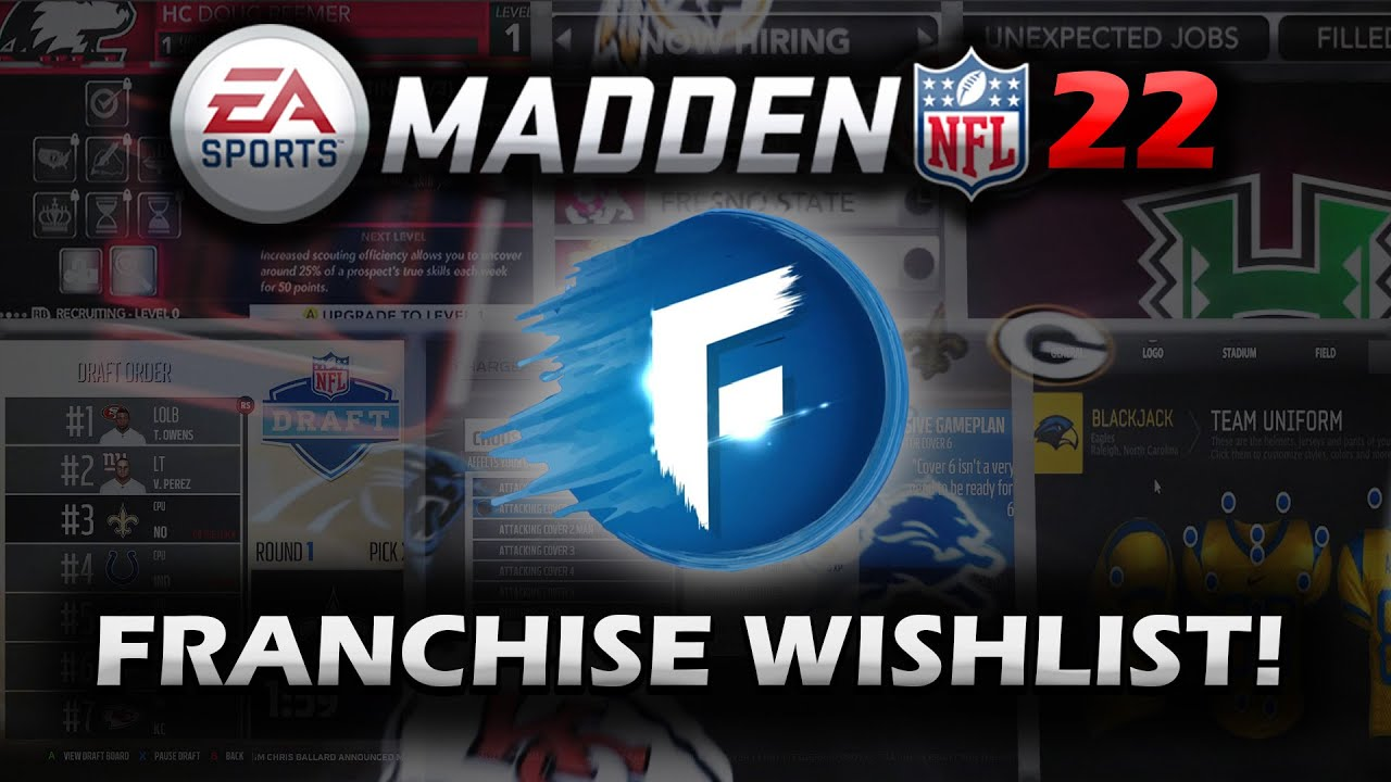 Madden 22: Franchise Mode, Customization And Presentation ...