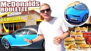 McDonalds Roulette & Bugatti Chiron (3,5 Million €)
