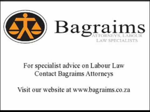 Labour Law in South Africa (part 5 of 6)
