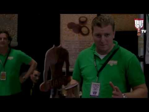 Cannabis Cup 2013 - Greengo Natural Papers & Tobacco Alternatives Amsterdam SGTV HD