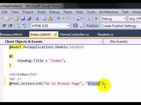 @Html.ActionLink() In MVC
