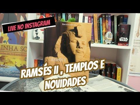 Live: Templos de Abu Simbel e Egito Antigo 📽