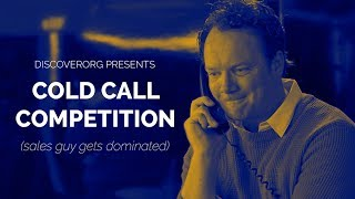 Cold Call Competition (Sales Guy Gets Dominated)