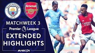 Manchester City v. Arsenal   PREMIER LEAGUE HIGHLIGHTS   8/28/2021   NBC Sports