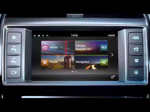 Jaguar XE 2016 | InControl Touch Digital Audio Broadcasting System
