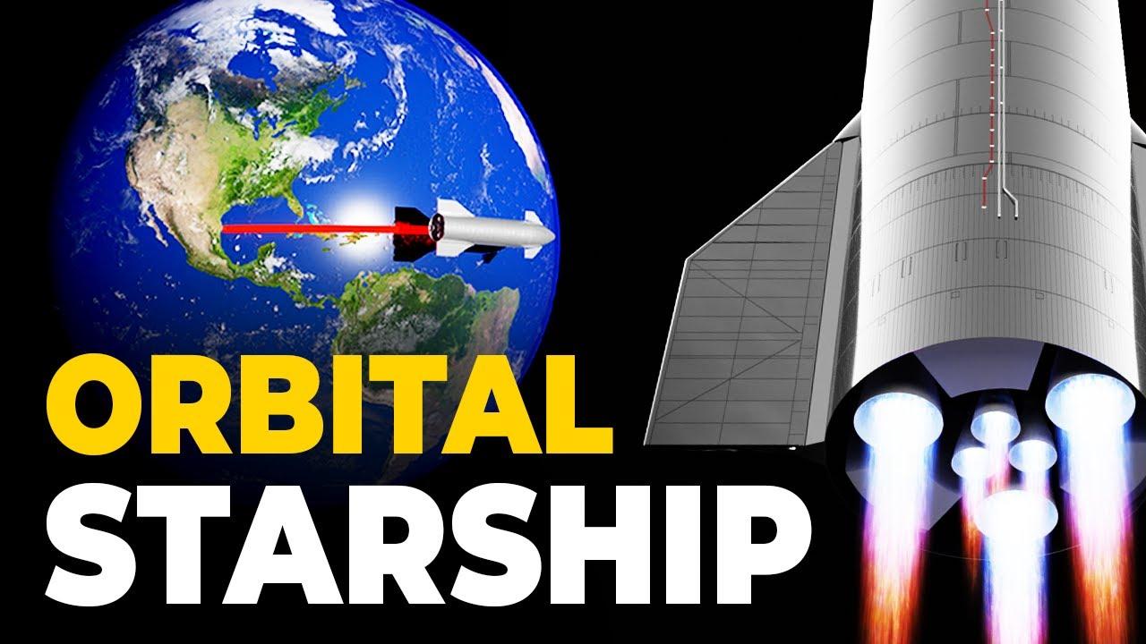 """Why """"Orbital"""" Starship SN20 Will NOT Achieve Orbit"""