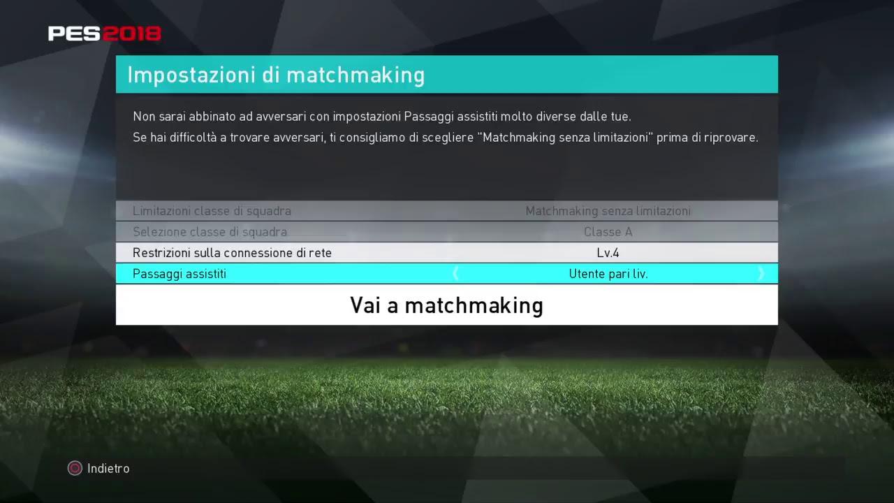 Selezione matchmaking