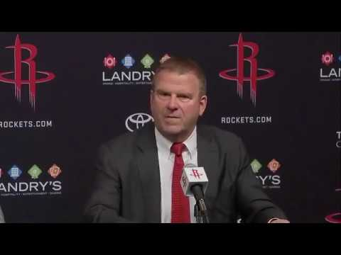 (FULL) Owner Tilman Fertitta Houston Rockets introductory news conference | ESPN