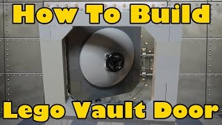 How To Build A Lego Lockable Vault Door