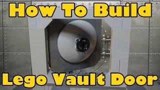 How To Build A Lego Lockable Vault Door