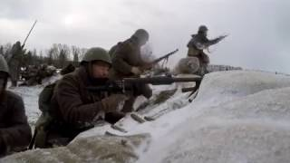 """Работа ПТРД """"Поле боя"""" """"Горячий снег"""""""