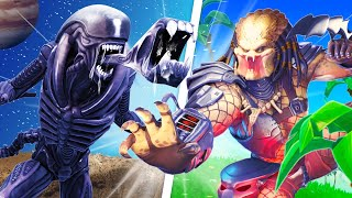 The *ALIEN vs PREDATOR* Challenge in Fortnite!